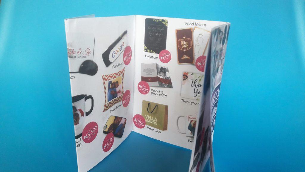 Printivo A3 Catalogue