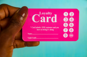 Image of a loyalty card