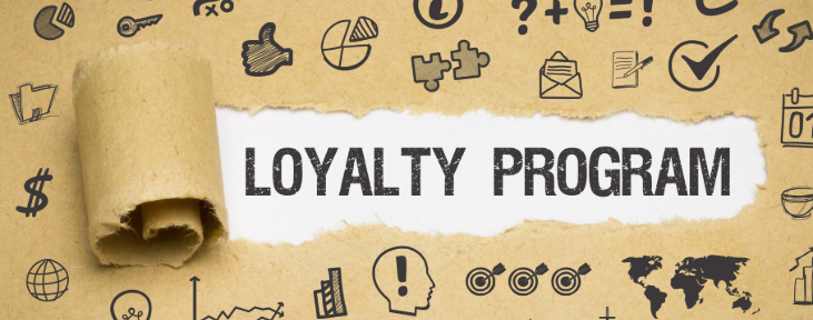 Image of a loyalty programtext