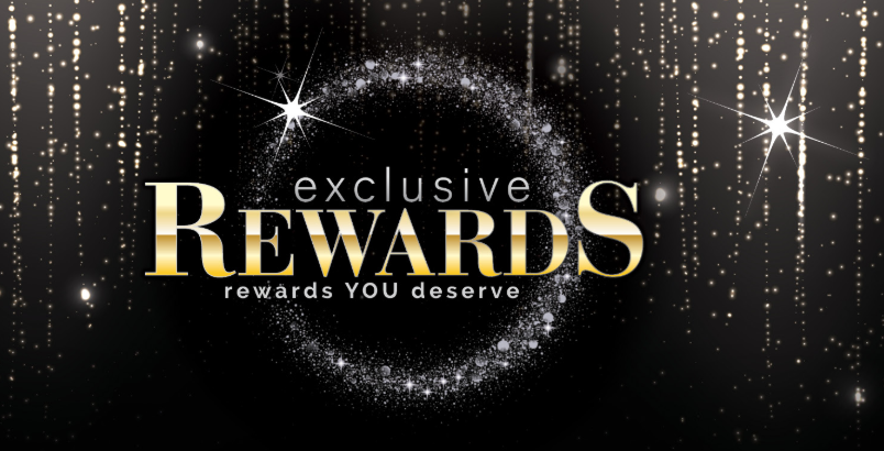 Image of a rewards text